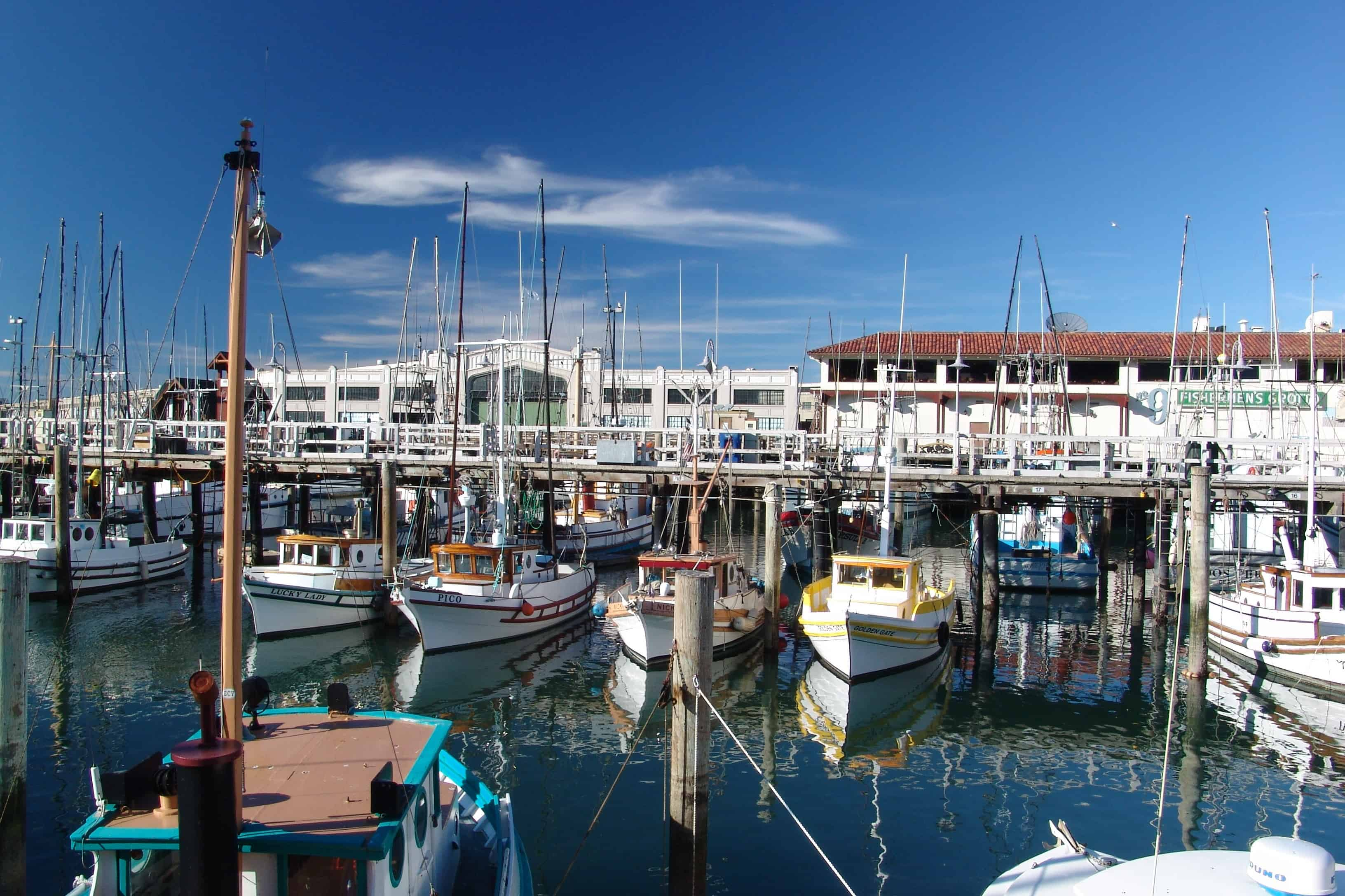 california bucket list ideas fishermans warf