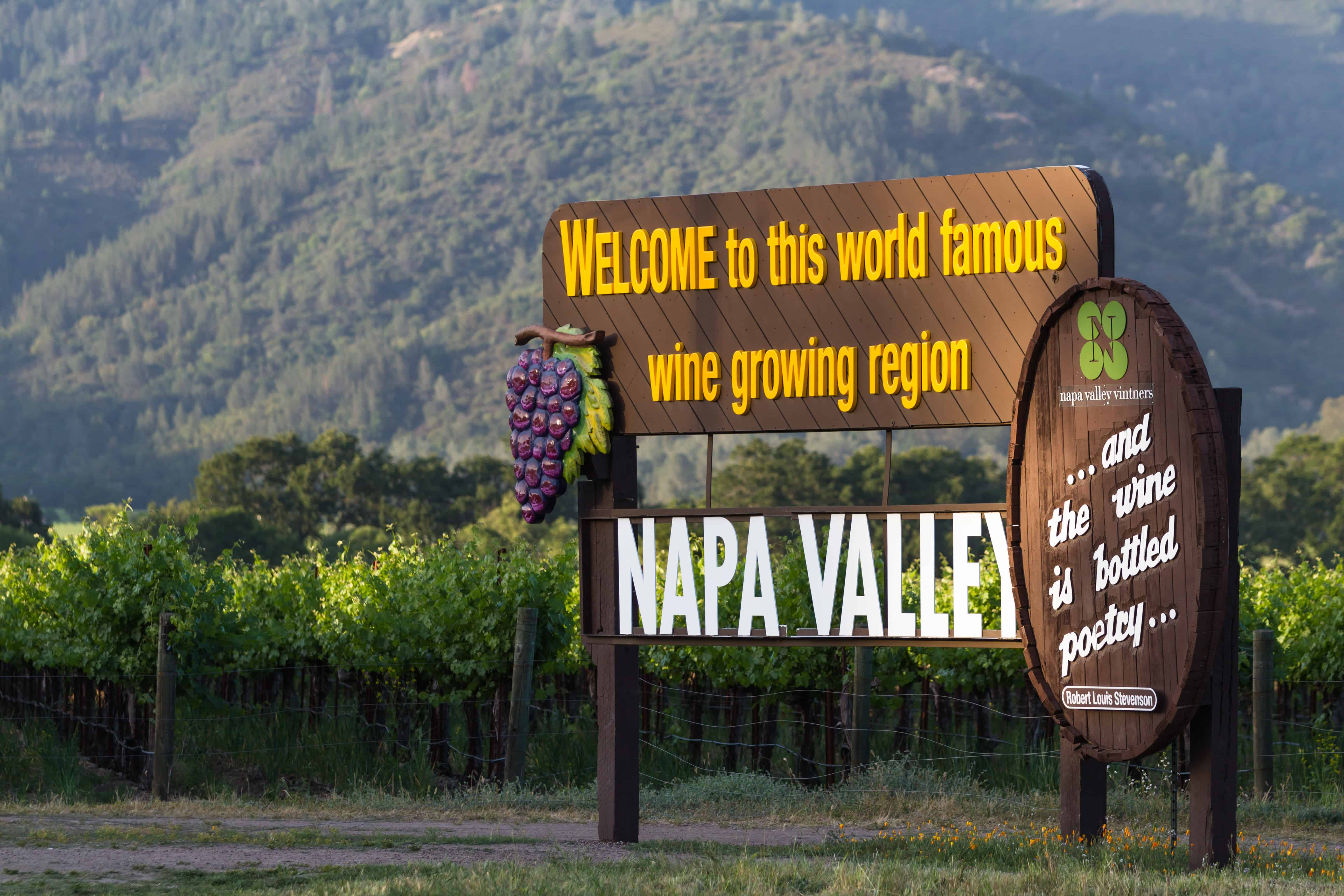 california bucket list ideas napa valley