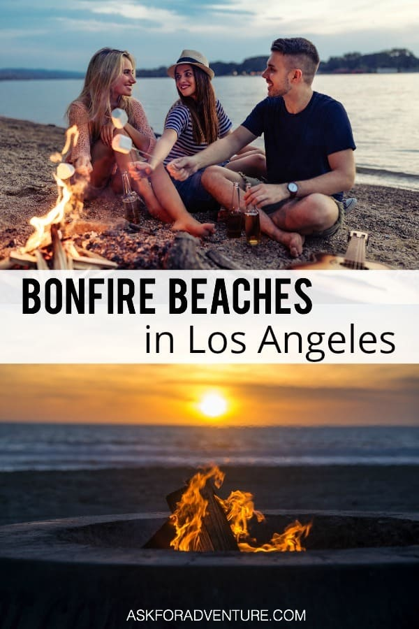 Bonfire Beaches In Los Angeles