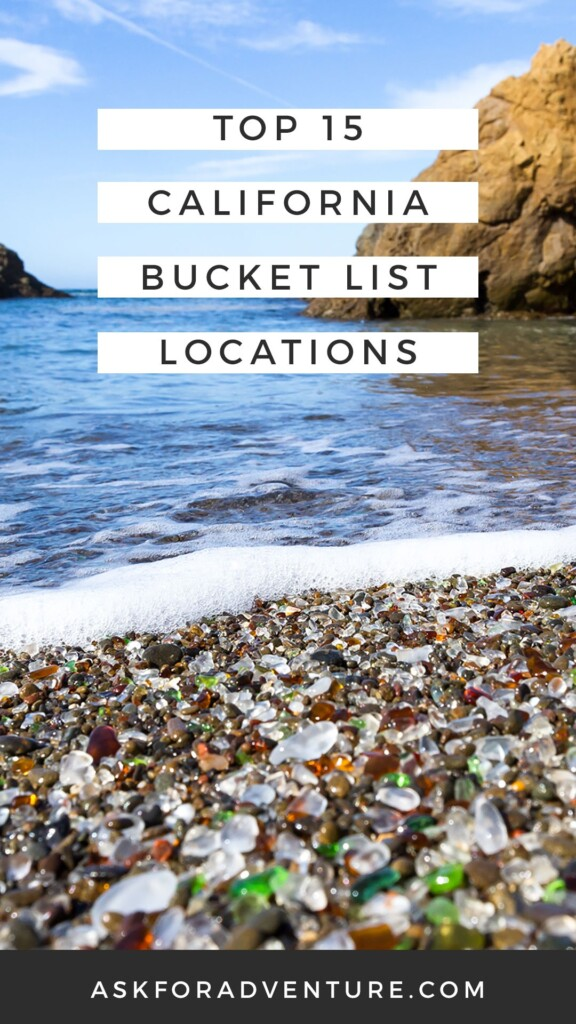 California Bucket List ideas