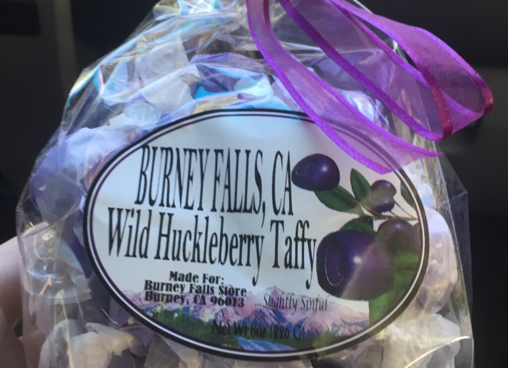 wild huckleberry taffy