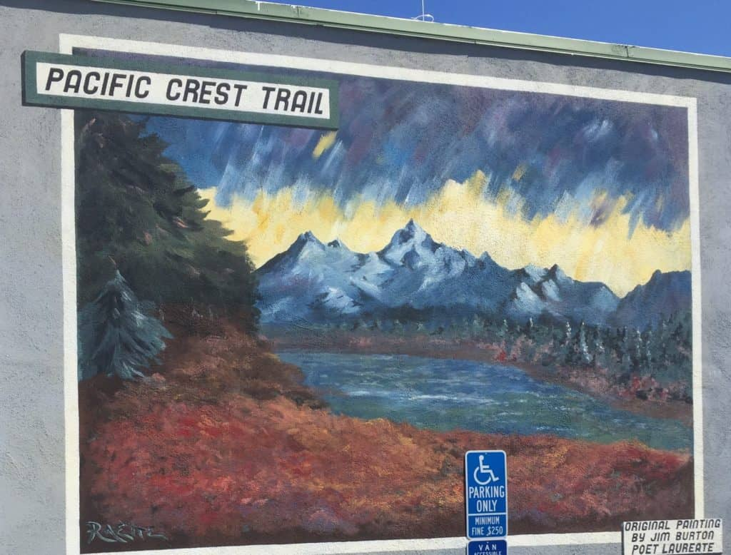pacific crest trail painting burney ca