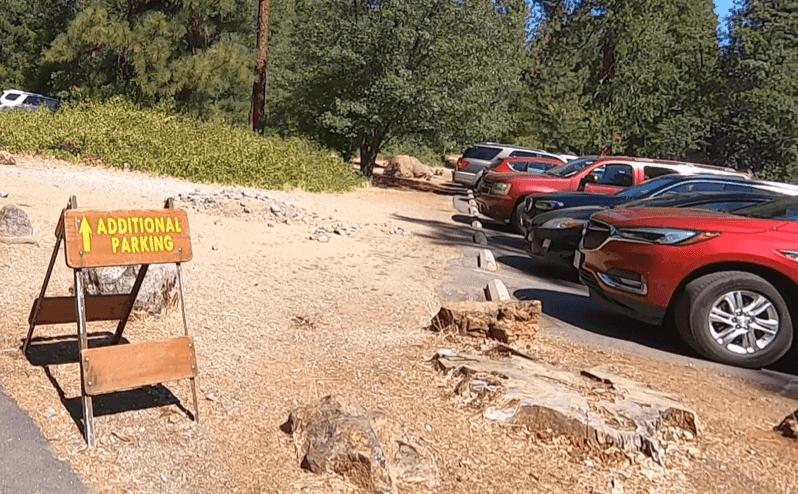 parking at burney falls