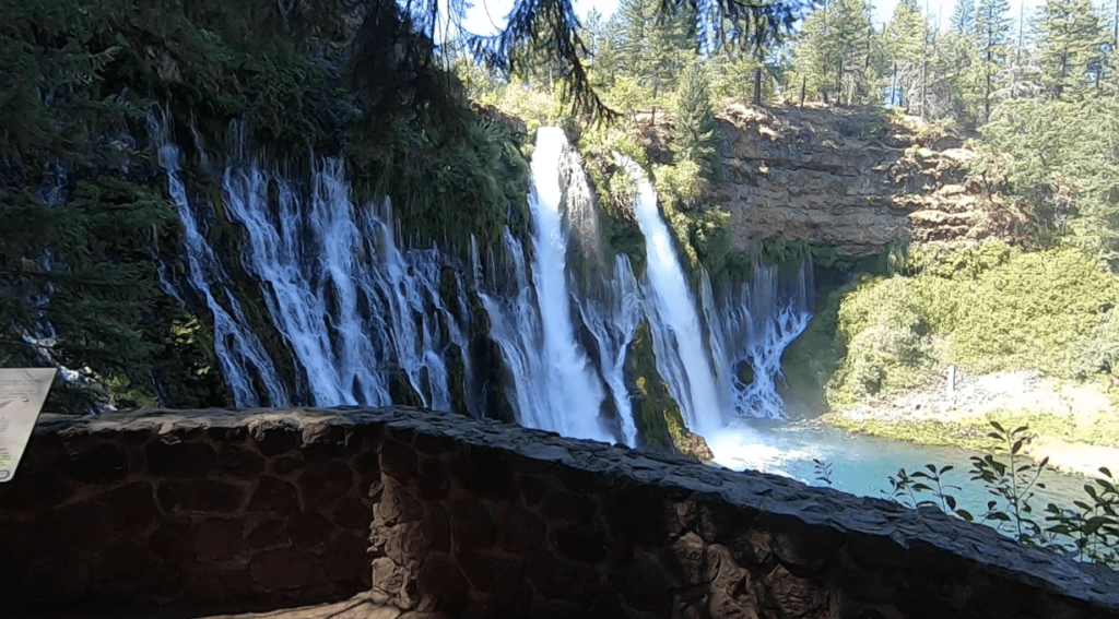 burney falls trail