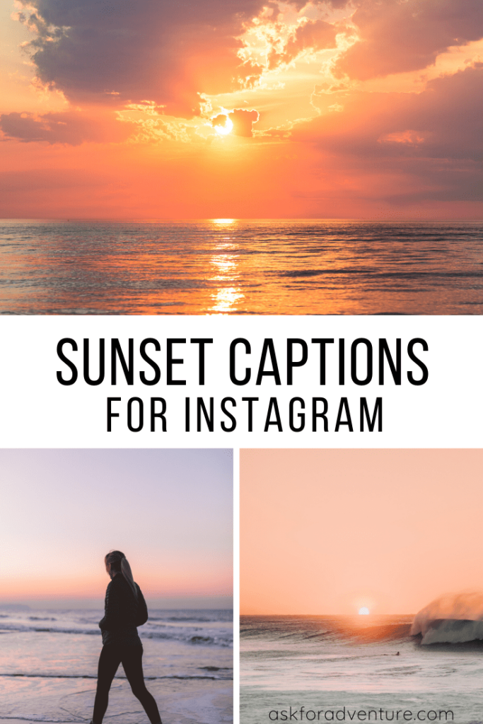 sunset captions