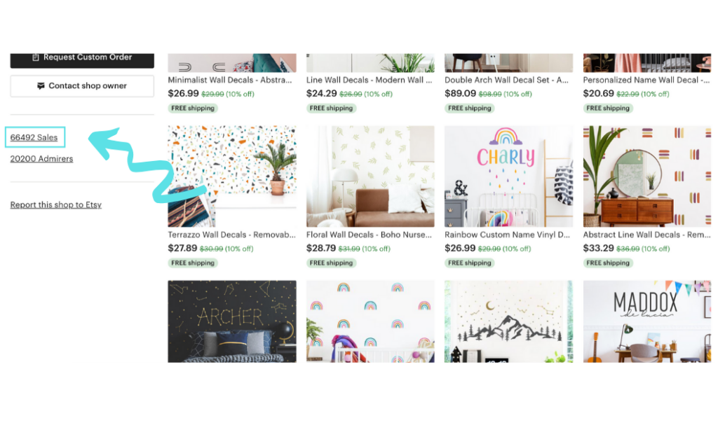 best etsy selling products