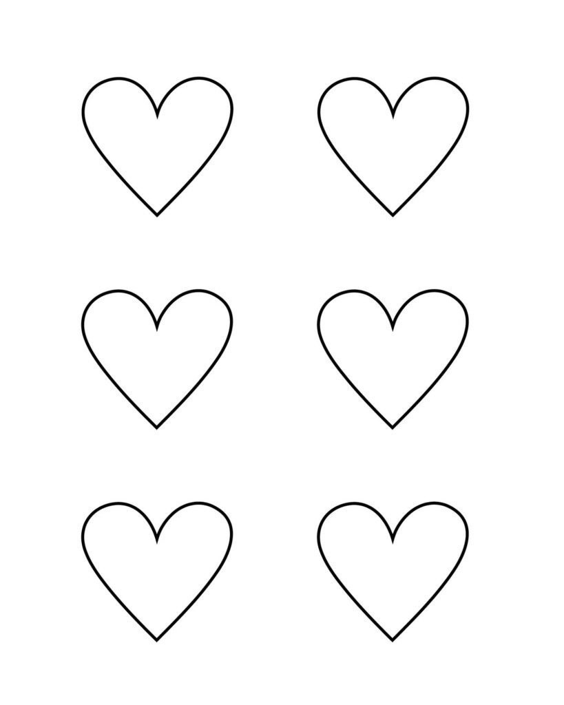 Free Heart Templates Printable Pdf Heart Cut Outs Ask For Adventure