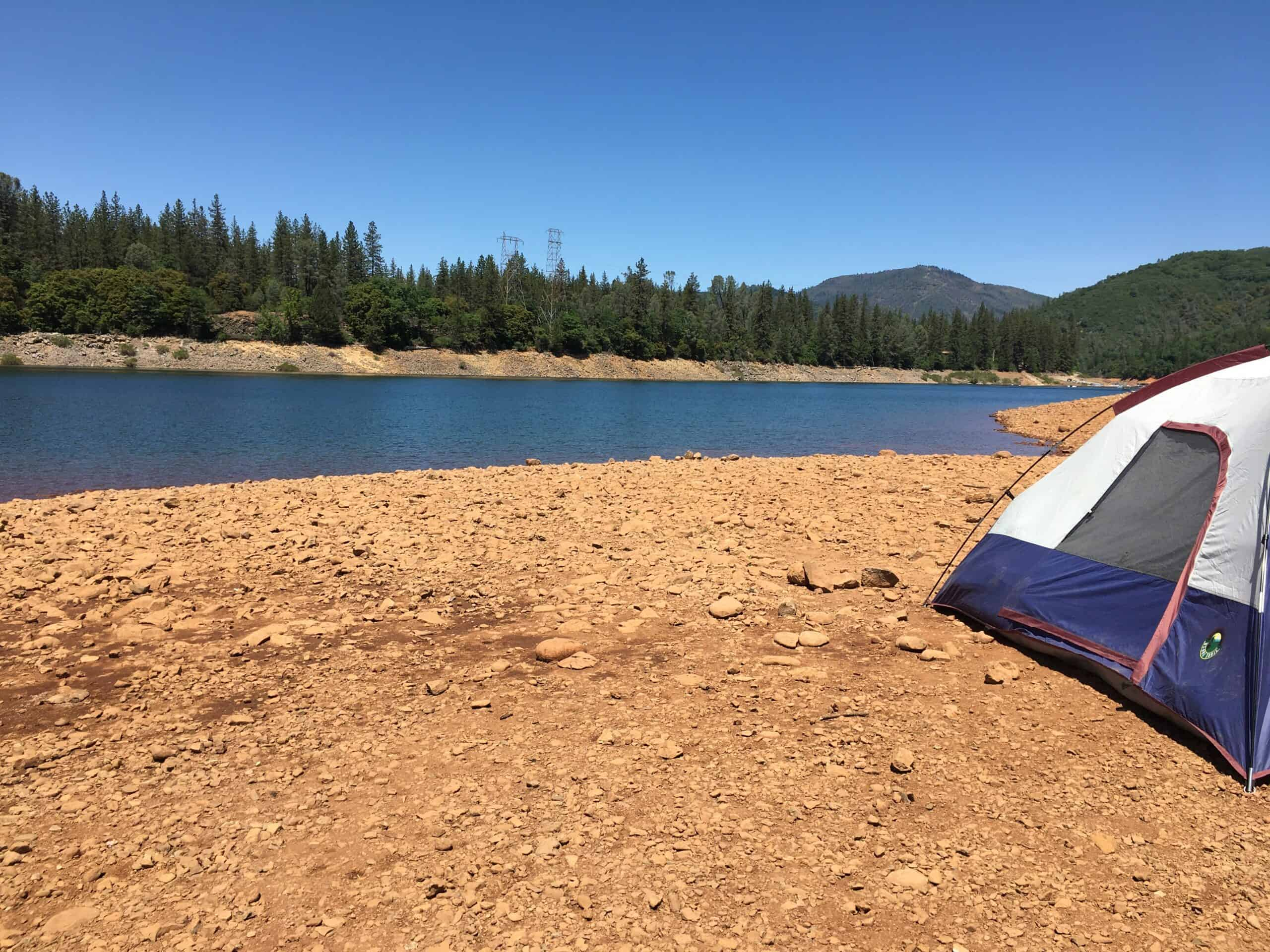 best campsites northern california