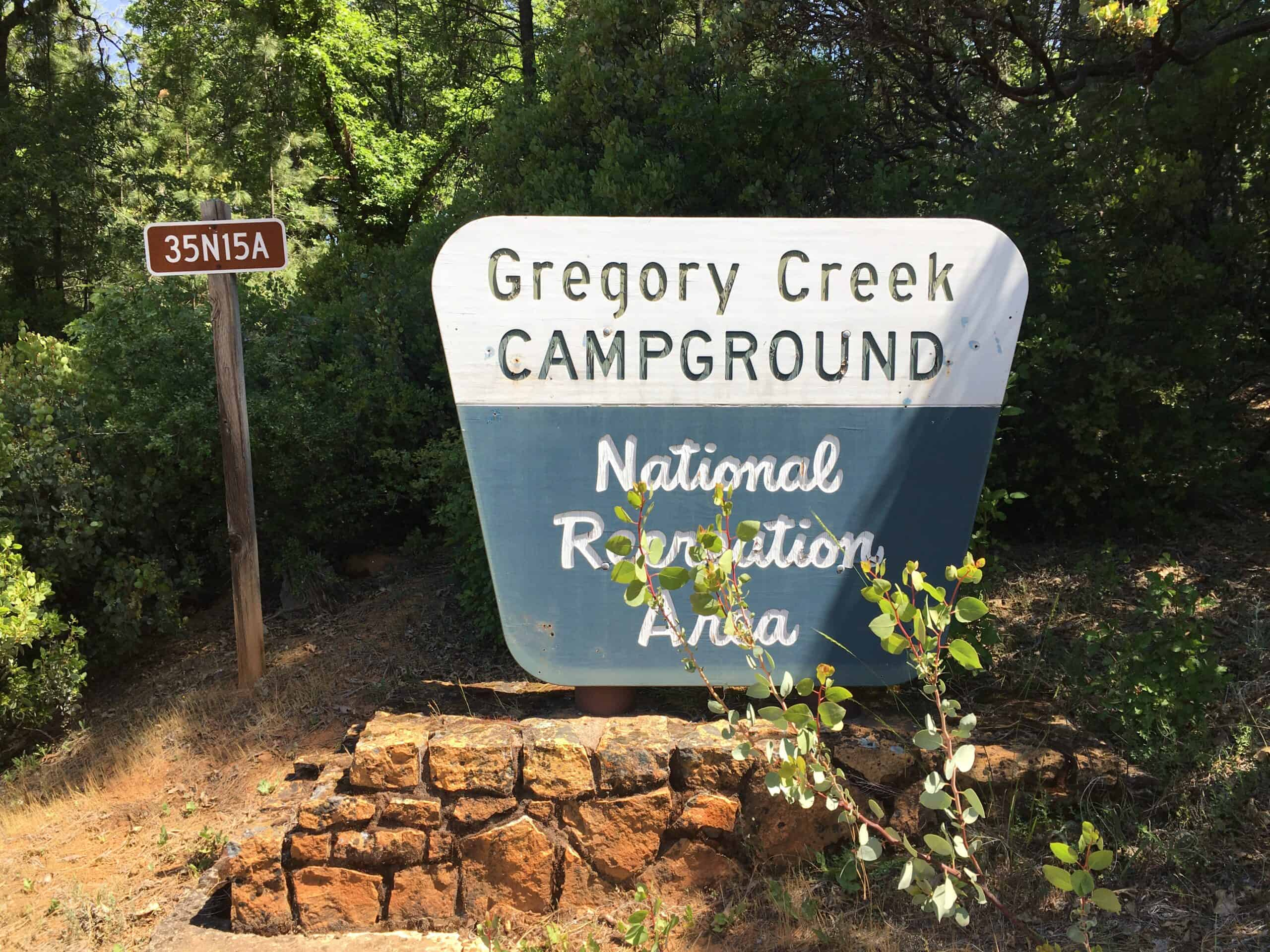 gregory beach campground shasta lake
