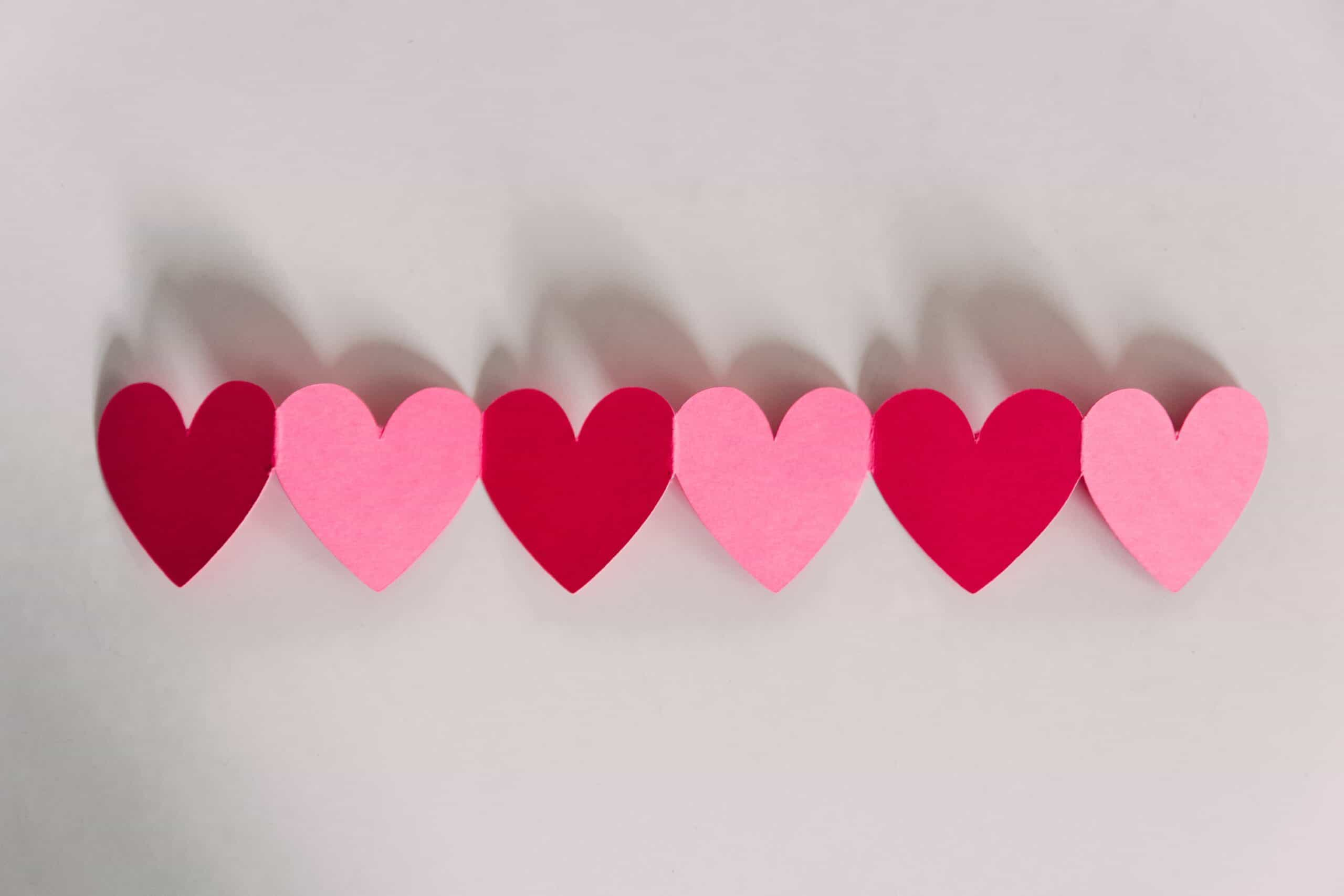 Free Heart Templates Printable PDF – Heart Cut Outs