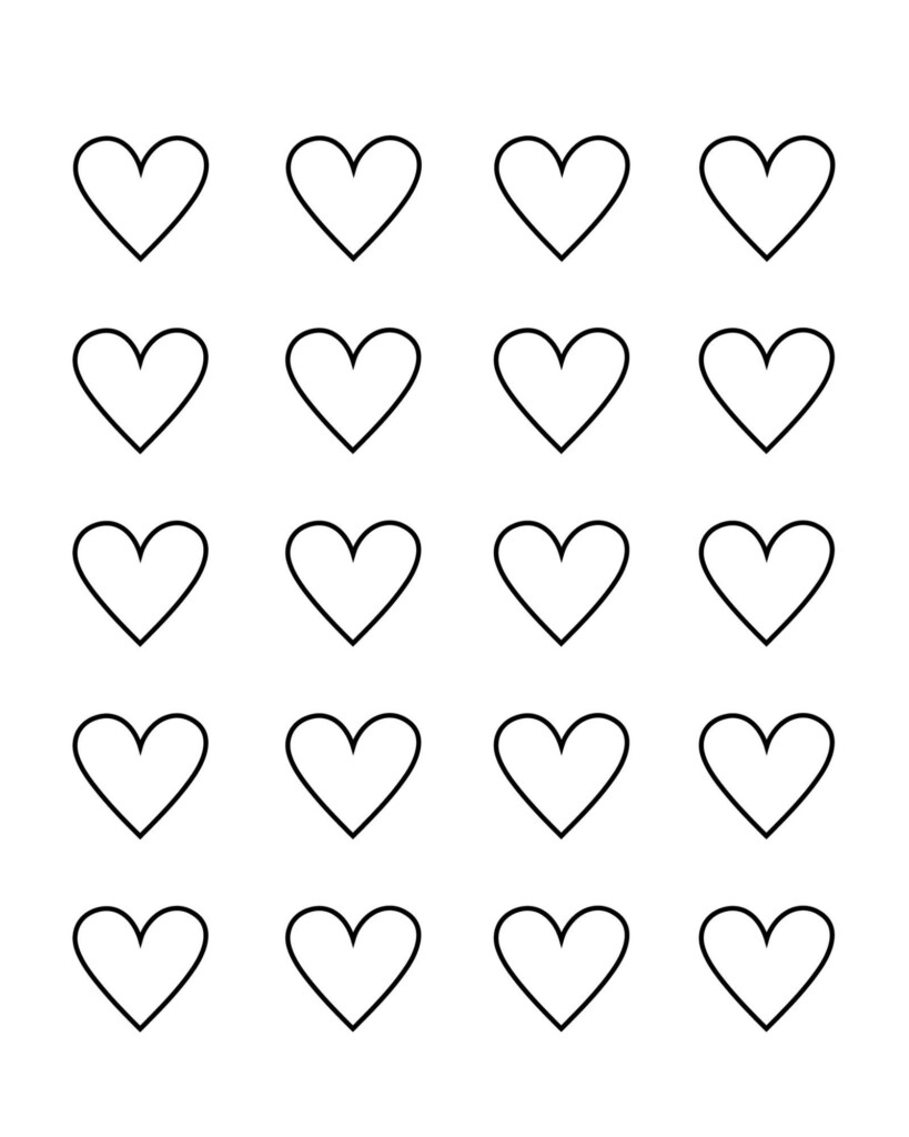 Heart Cut Out Printable
