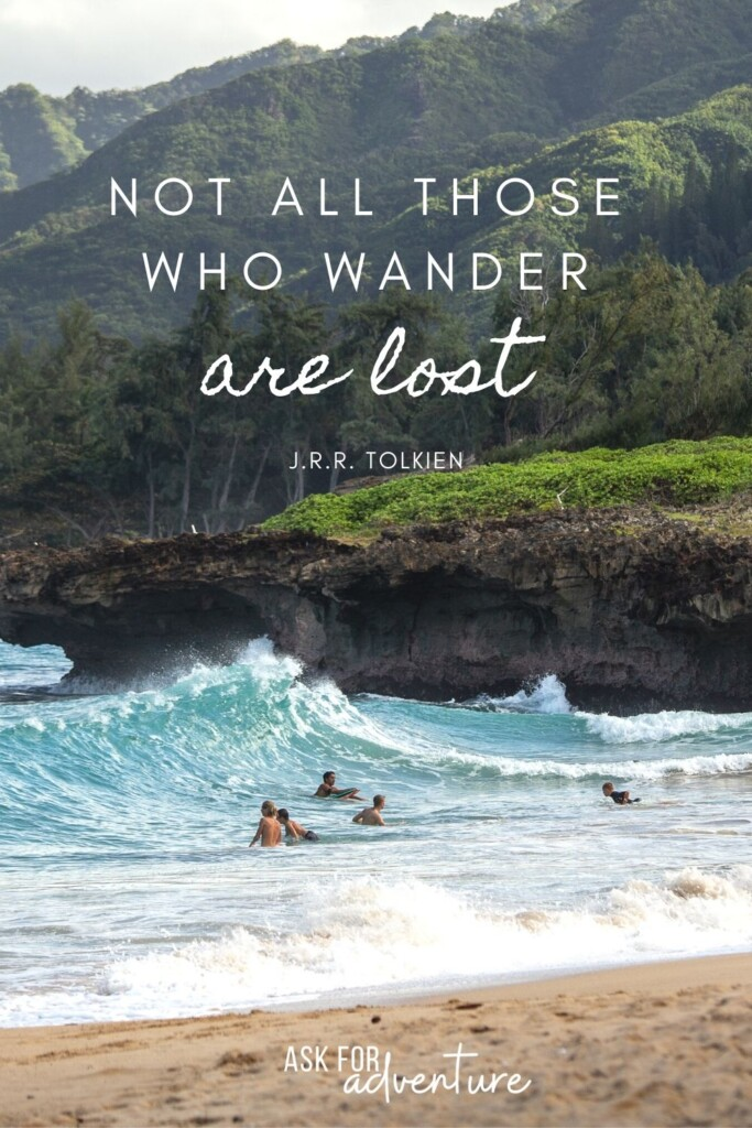 travel quotes short 34 | Not all those who wander are lost