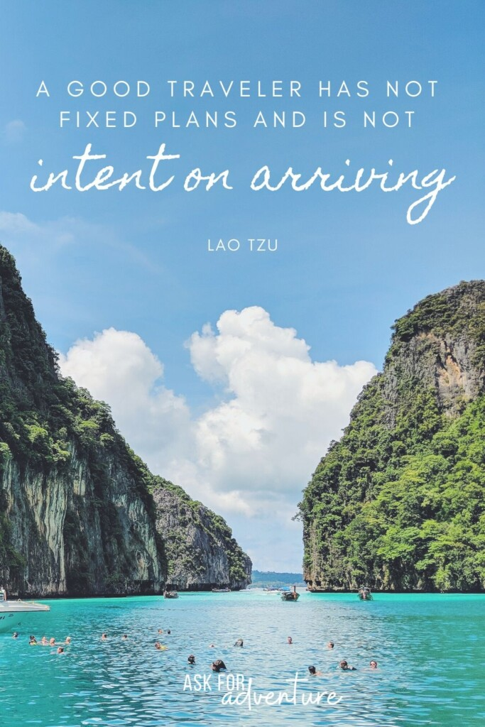 quotes about travel 42 | A good traveler has not fixed plans and is not intent on arriving.