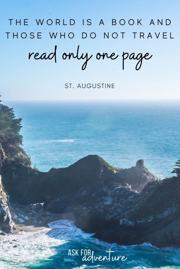 travel quotes inspirational 40 | The world is a book and those who do not travel read only one page