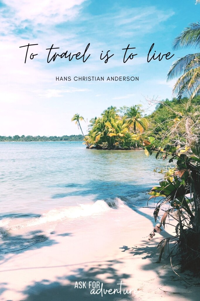 travel quotes short 48 | To travel is to live.