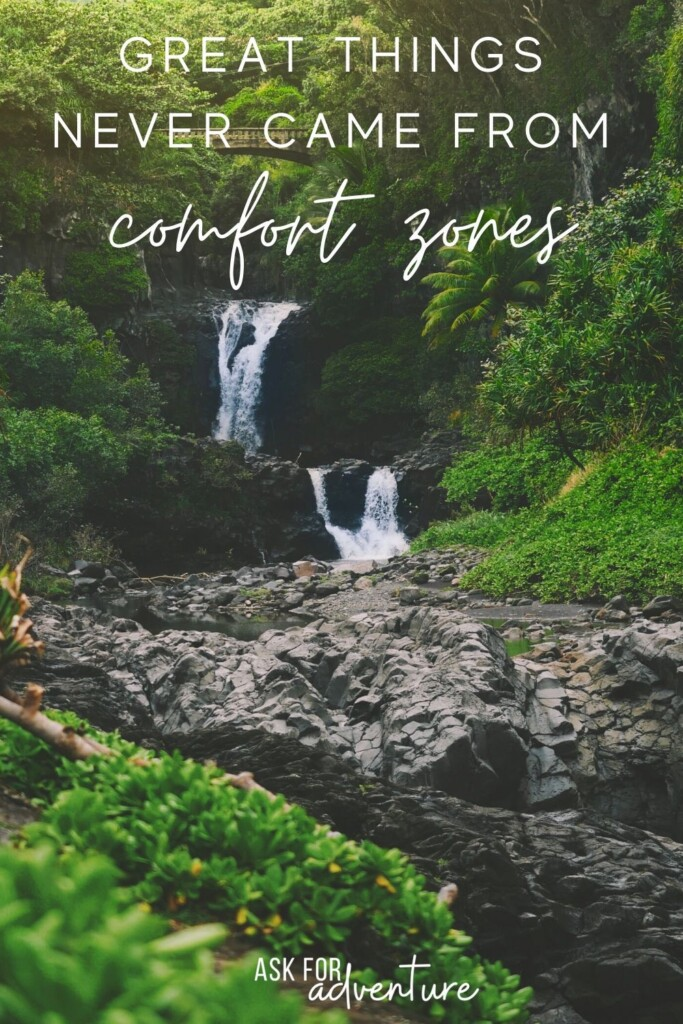 travel quotes that inspire 22 | great things never came from comfort zones