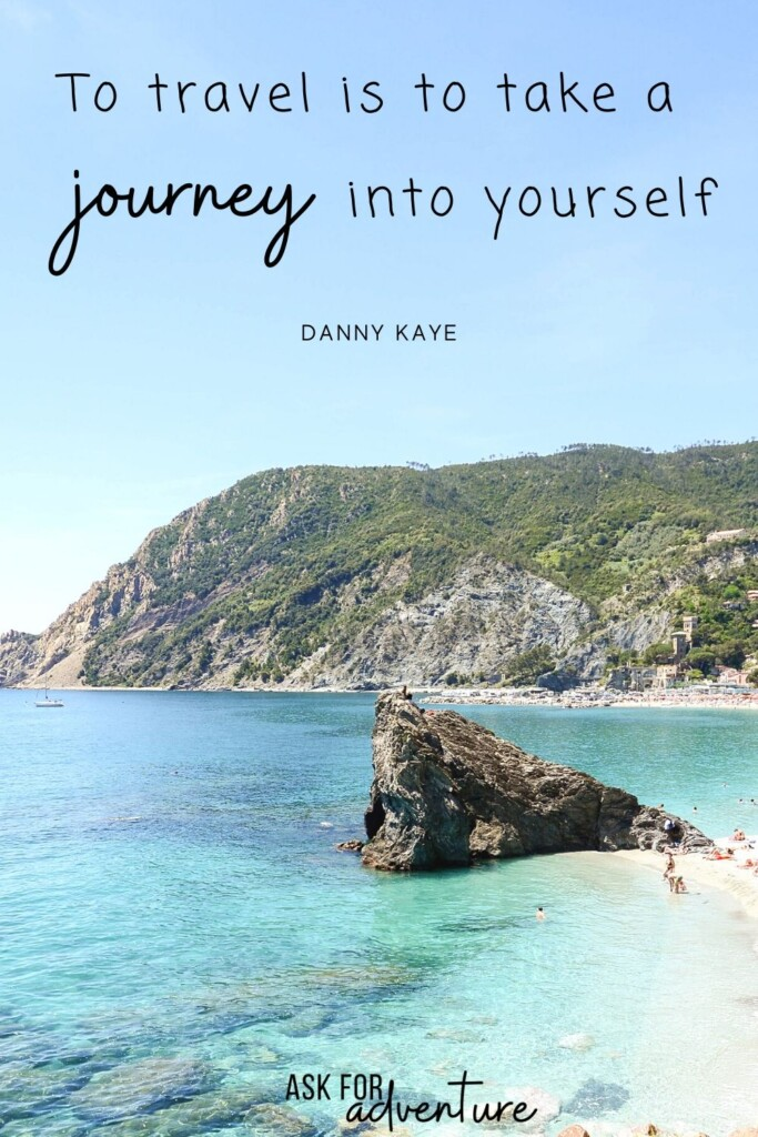 best travel quotes of all time 1 | To travel is to take a journey into yourself
