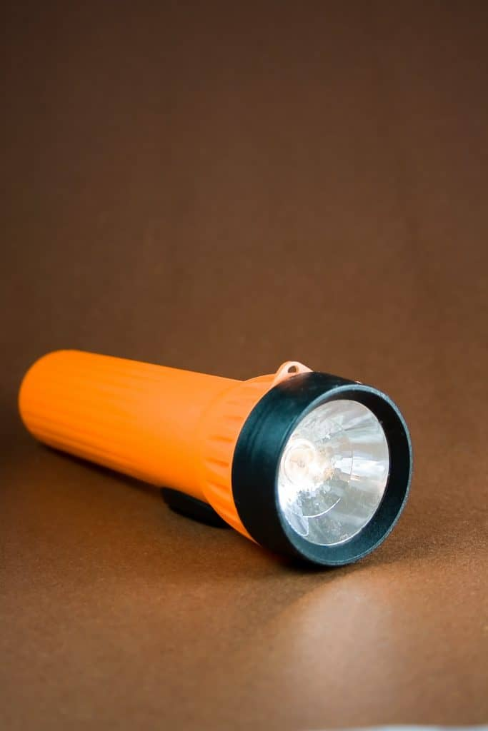 A flash light that would be perfect to buy for a travel trailer.