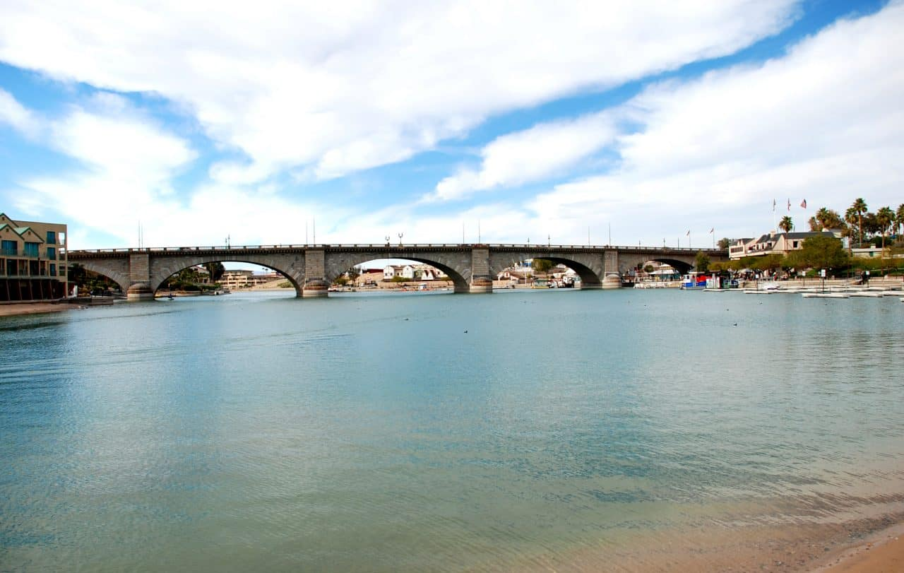 London bridge on Lake Havasu.