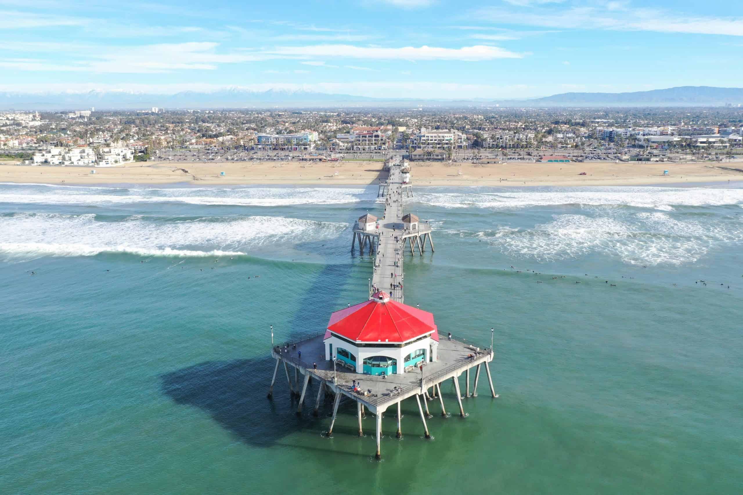 Huntington Beach in Southern California.