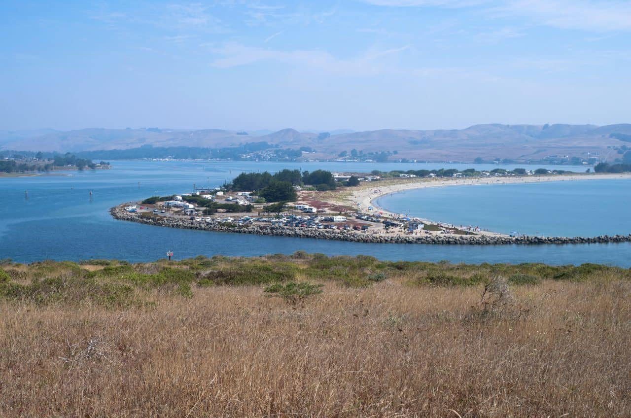 A view of Doran Campground in Northern California.