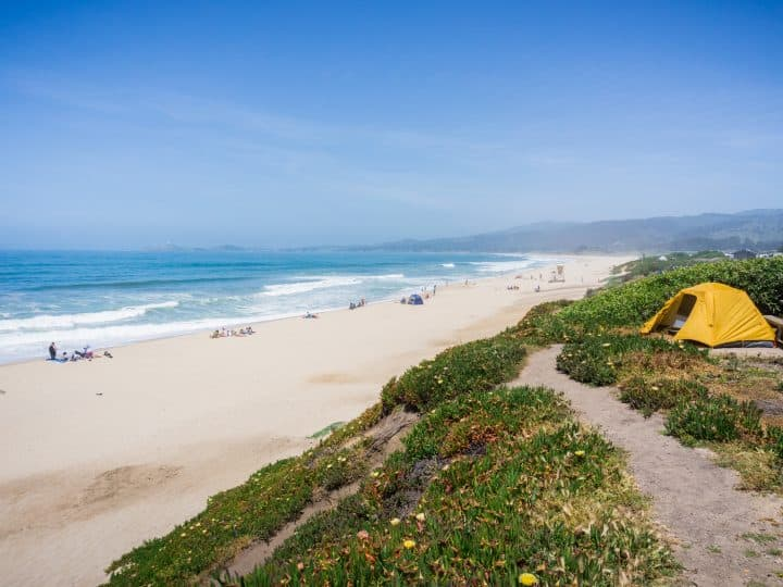 11 Amazing Places for Beach Camping in Northern California