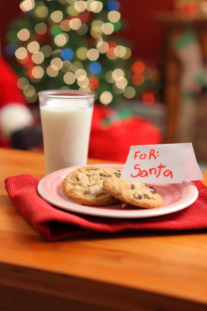 cookies and mild for Santa